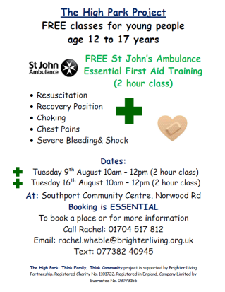hptftc sja first aid august 2016